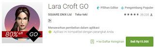 Lara Corft GO Game Terbaik Android