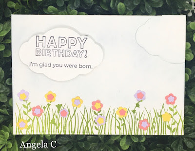 Stampin' Up!, Field of Flowers, www.stampingwithsusan.com, Flowers,