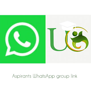 Aspirants WhatsApp group