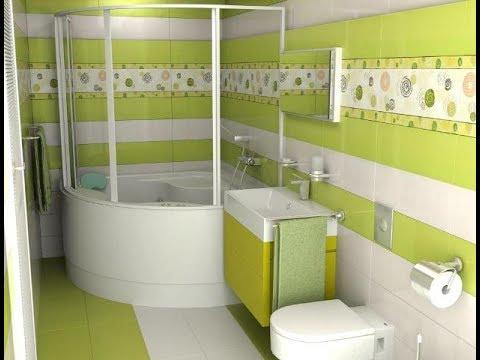 تصميم حمام صغير مميز جدا 2020