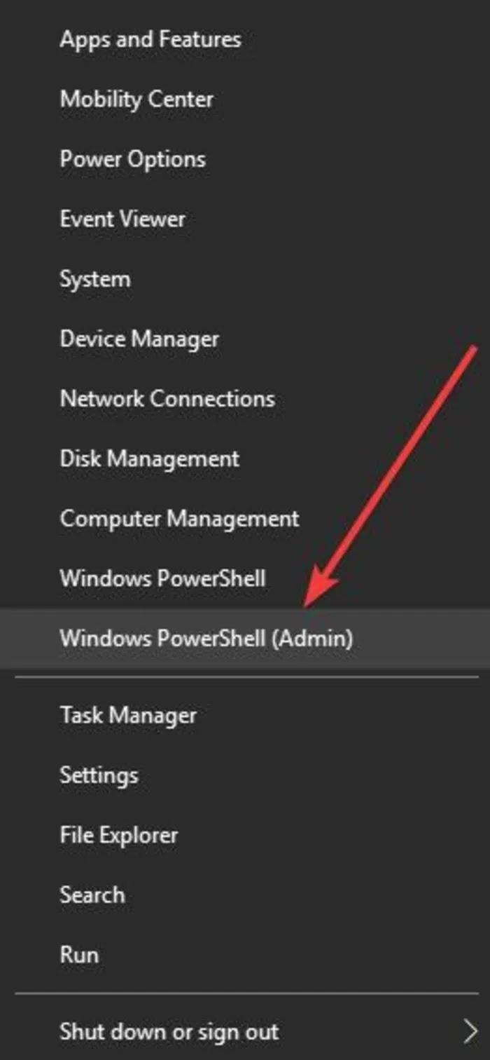 إصلاح لصق النسخ لا يعمل Windows Powershell Admin