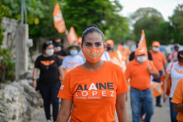 as mujeres no somos objeto de cambio, ni de negociación: Alaine López