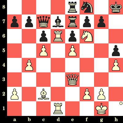 Les Blancs jouent et matent en 4 coups - Eugenio German vs Shorbagay, Skopje, 1972