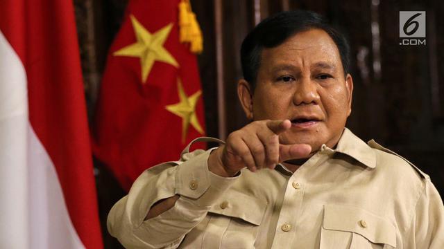 Permadi: Prabowo Subianto Pernah Bilang, Jika Masih Sehat Pasti Nyapres Lagi