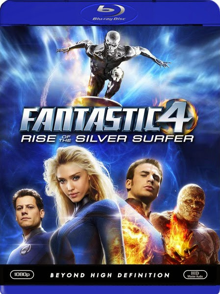 Fantastic 4 Rise of the Silver Surfer 2007 Hindi Dubbed Dual BRRip 350mb