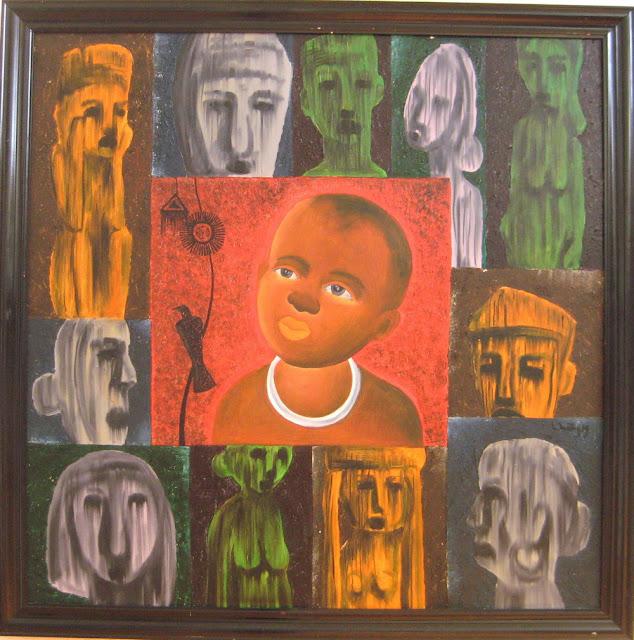 Tác phẩm hội họa về đề tài Tây nguyên 20