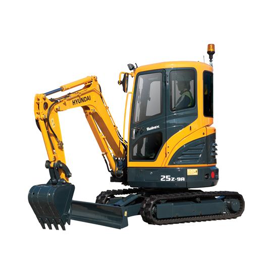 Hyundai Excavators R25Z-9AK