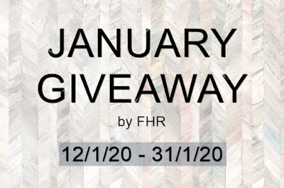 JANUARY GIVEAWAY by FHR, blogger giveaway, blog, hadiah,