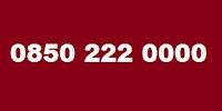 0850 222 0000 Telefon Numarası Kimin
