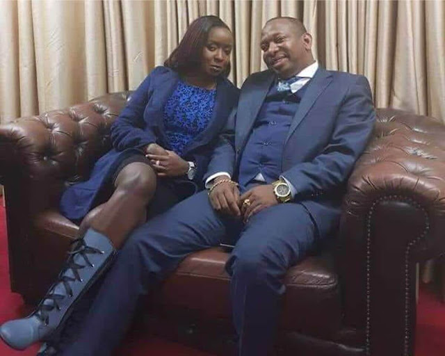Jacque Maribe with Nairobi governor Mike Sonko photos and vides