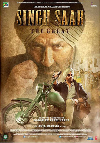 Singh Saab the Great 2013 ORG Hindi 720p HDRip 1.2GB DD5.1Ch ESubs poster