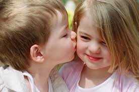 Top latest hd Baby Boy to Girl frist kiss images photos pic wallpaper free download 10