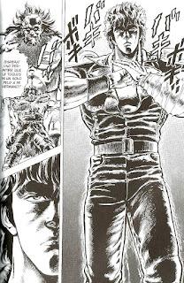 """Reseña de """"El Puño de la Estrella del Norte (Hokuto no Ken)""""."""