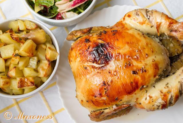 Курица по-французски от Джейми Оливера