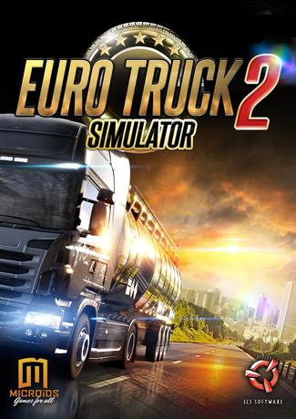 Euro Truck Simulator 2 Cover Art PC Game