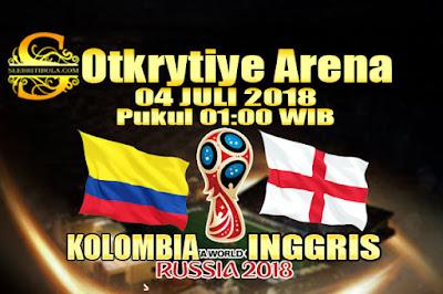 JUDI BOLA DAN CASINO ONLINE - PREDIKSI PERTANDINGAN PIALA DUNIA 2018 KOLOMBIA VS INGGRIS 04 JULI 2018