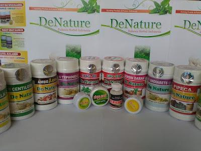 cara pesan obat de nature