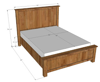 Constructing A Queen-Sized Bed With Woodworking Bed Plans