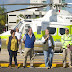 Entrega Enrique Alfaro helicóptero al SAMU de Jalisco