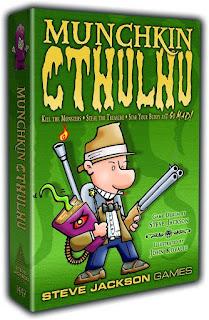 Munchkin Cthulhu board game