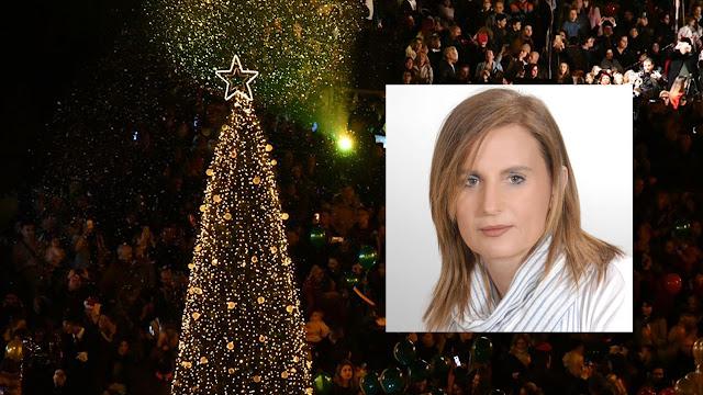 Μαρία Ράλλη: Το κλειδί και της φετινής επιτυχίας των Χριστουγεννιάτικων εκδηλώσεων ήταν η μαζική συμμετοχή