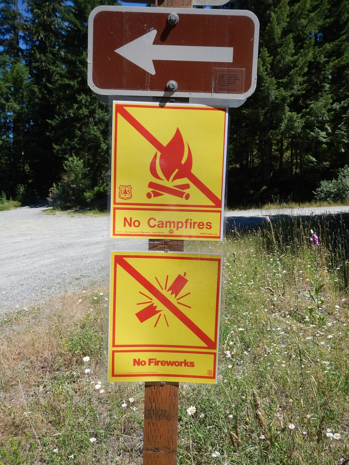 bc292e9e5 If you are found with fireworks up at Scenic then you carried them across  National Forest lands. That is a ...