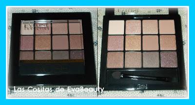 Paleta de sombras de ojos ROSE de Eveline Cosmetics