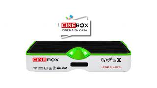 Cinebox Fantasia X Dual Core Atualização - 21/09/2018