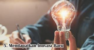 Mendapatkan Inovasi Baru merupakan salah satu manfaat mengikuti seminar bisnis
