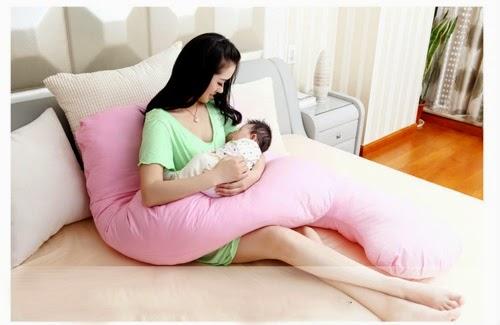 Gối bà bầu chữ U sử dụng ngay cả sau khi sinh con