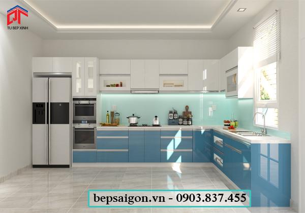 tu bep, nội thất tủ bếp, tủ bếp đẹp, tủ bếp acrylic
