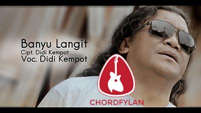 Lirik dan Chord Kunci Gitar Banyu Langit - Didi Kempot