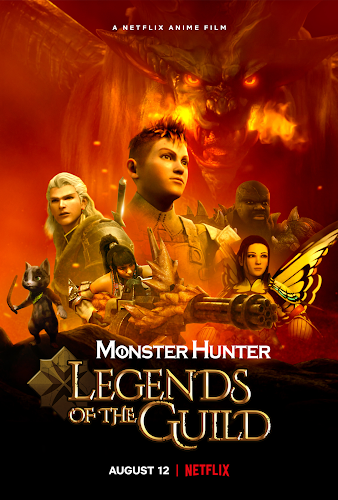 Monster Hunter: Legends of the Guild (Web-DL 720p Español Latino) (2021)