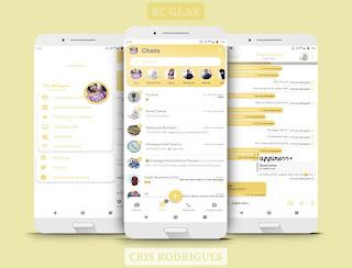 Rc White08 Theme For YOWhatsApp & Fouad WhatsApp By Cristina