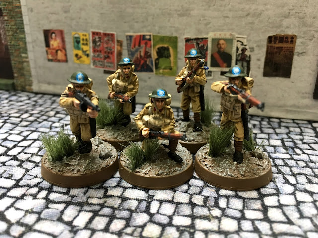 Empress Miniatures early British as WW2 Chinese for Bolt Action
