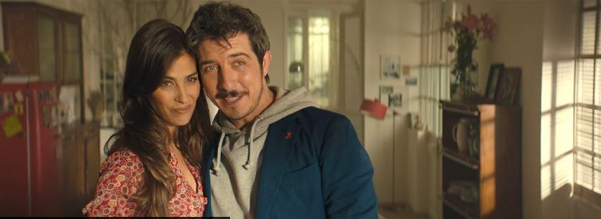 Petti pubblicità Pomodoro toscano con Paolo Ruffini e le due belle modelle bionda e mora con Foto - Testimonial Spot Pubblicitario Petti 2016