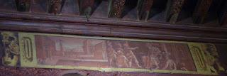 Techos pintados del Palais des Évêques.