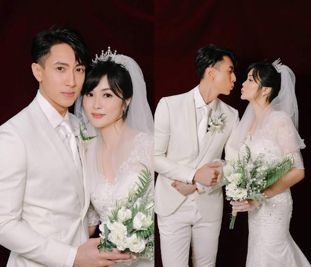 Wu Chun and Wife Lin Liyin Successfully Take Wedding Photos in a DIY Photoshoot with Their Kids