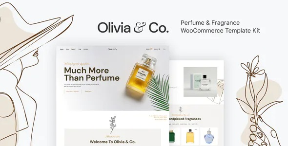 Best Perfume & Fragrance WooCommerce Template Kit