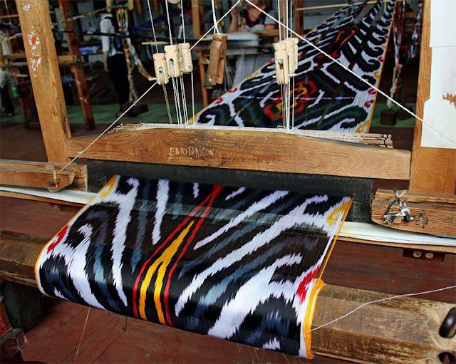 Fábrica de seda Yodgorlik