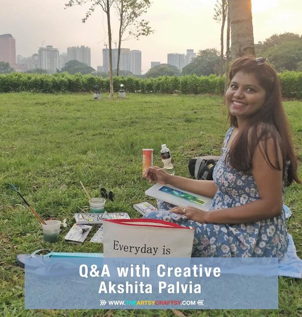 Q&A with Creative Mixed Media Artist, Akshita Palvia
