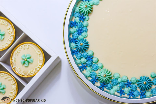 One large Caramel Cake by Krissells
