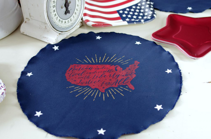 Red, White, and Blue Placemats