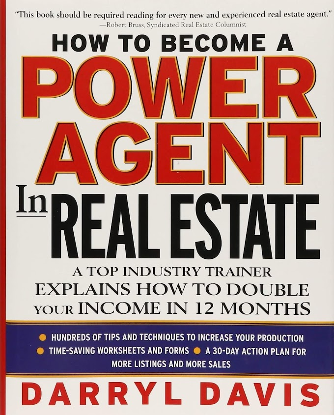 How To Become a Power Agent in Real Estate by Darryl Davis Ebook Download