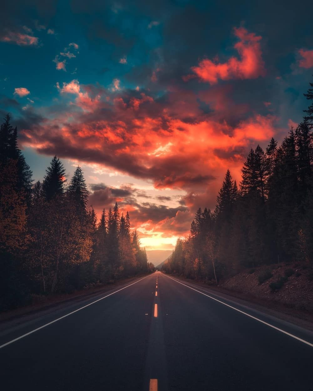 Dreamlike and Moody Landscape