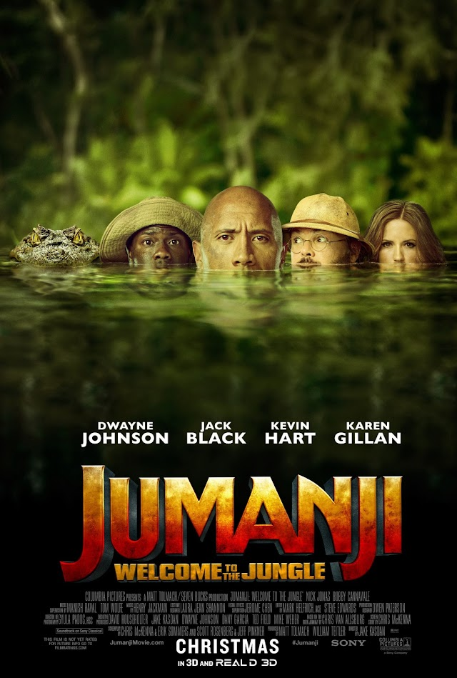 Jumanji: Welcome to the Jungle 2017 Movie Free Download HD Online