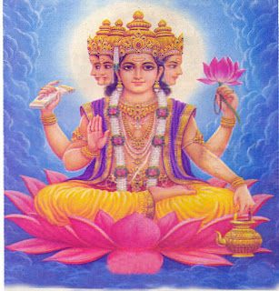 god Brahma image