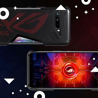 Fitur-fitur yang tersedia pada Display Asus ROG Phone 3