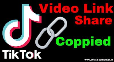 Share Link TikTok Account