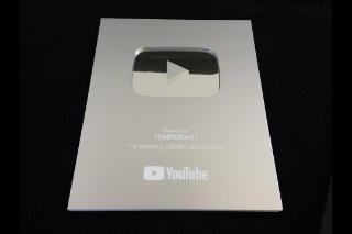 Silver YouTube Play Button Award